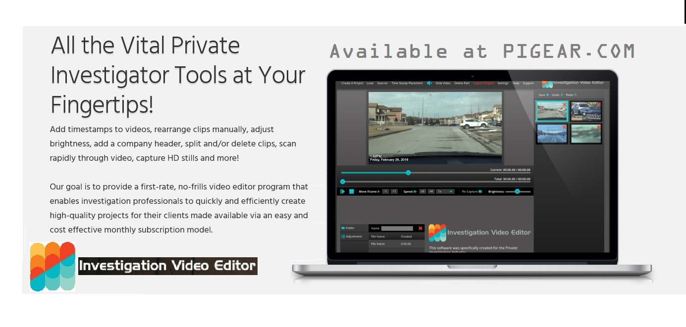 INVEST  VIDEO EDITOR