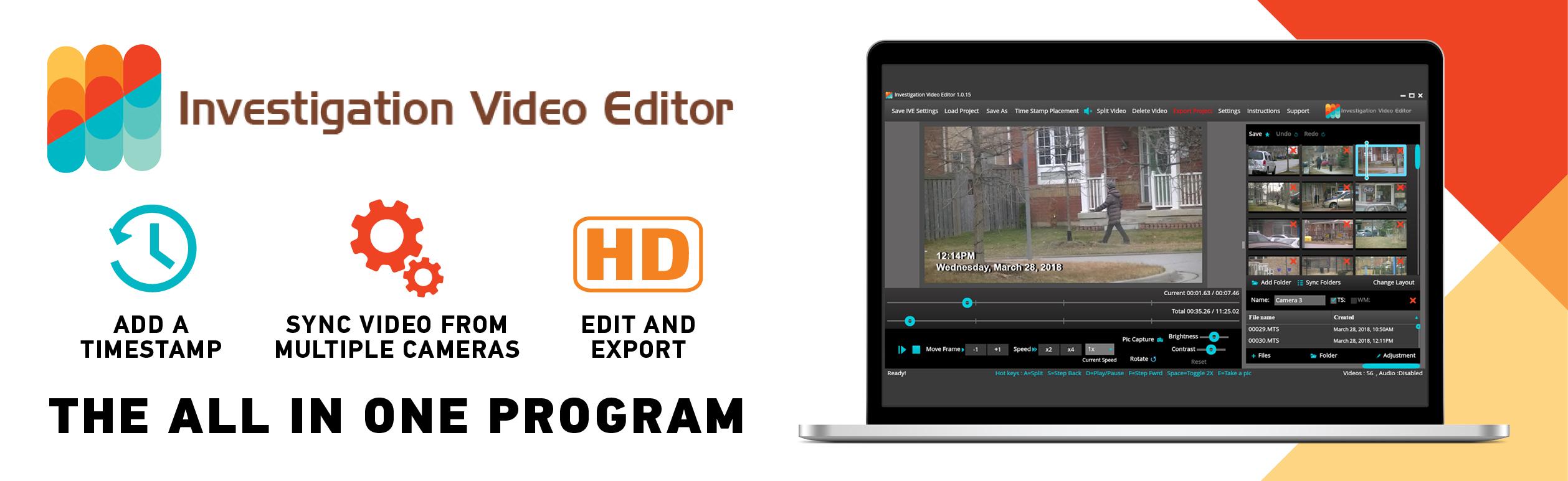 INVEST  VIDEO EDITOR