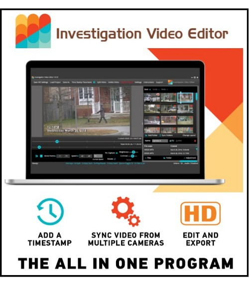 INVESTIGATION VIDEO EDITOR