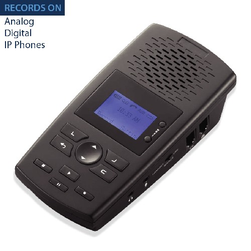TR600 Landline Phone Call Recorder for Analog/IP/Digital Lines