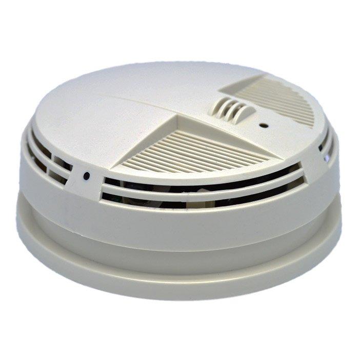Cvr Night Vision Smoke Detector Camera Wi Fi Side View El