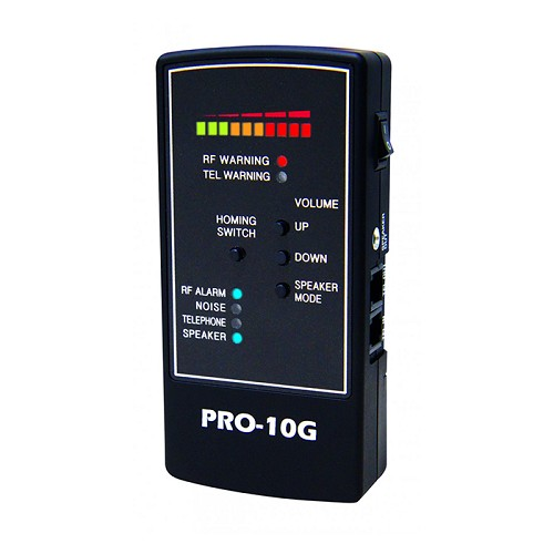 PRO-10G Cell Phone and GPS Bug Detector