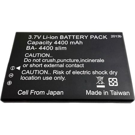 LawMate BA-4400 Slim Battery for PV-1000 Touch5U