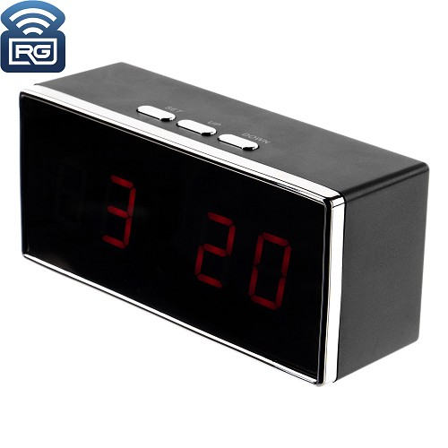 SC550W 1080P WiFi IP Digital Clock Hidden Camera w/ Night vision
